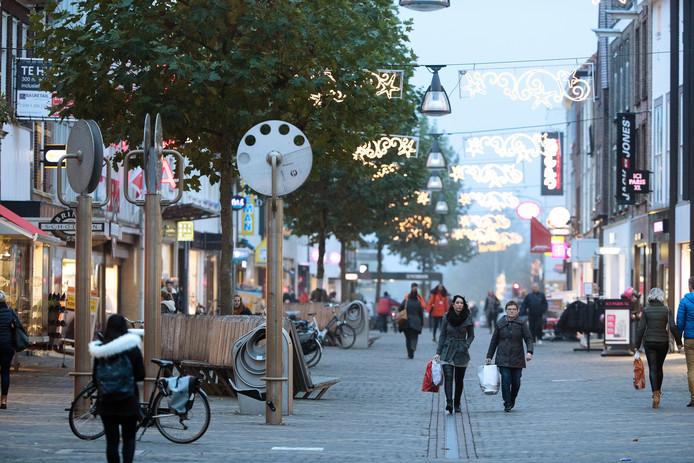 De Hamburgerstraat in Doetinchem.