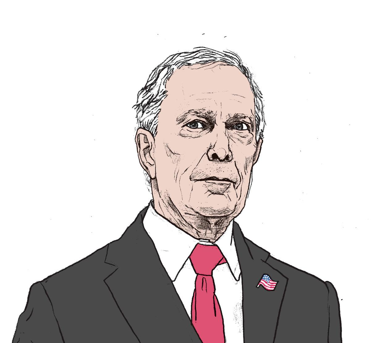 De officiële reden waarom Bloomberg alsnog in de race stapt, is omdat hij denkt dat geen van de huidige kandidaten in staat is om Trump te verslaan. Beeld Gijs Kast