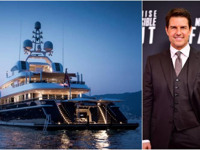 BINNENKIJKEN. Een half miljoen euro voor een week: Tom Cruise verkent Engeland op luxejacht Triple Seven