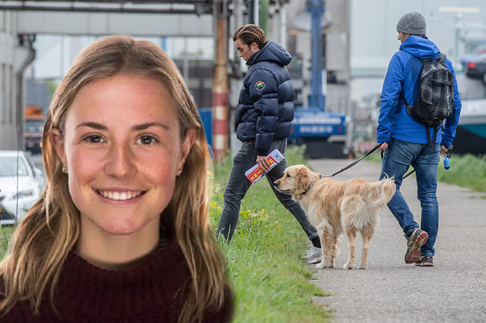 Illustration picture shows the search for missing Julie Van Espen in the area near the Sportpaleis events hall, in Antwerp, Monday 06 May 2019. 23-year-old Julie Van Espen disappeared on Saturday evening when she was cycling from her home in Schilde to Antwerp. BELGA PHOTO JONAS ROOSENS