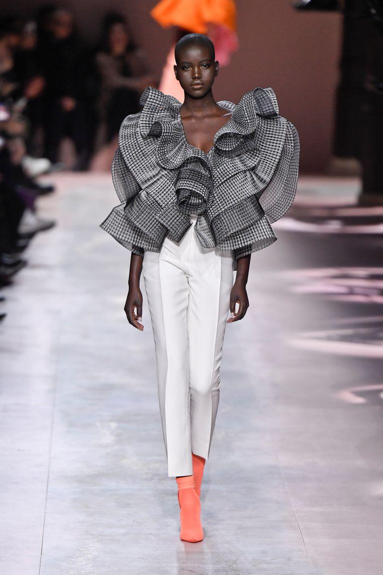 Model Adut Akech, 2020. Beeld Victor VIRGILE / Getty