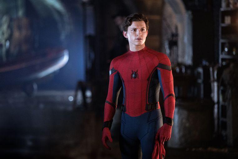 Tom Holland zal niet meer op bezoek gaan bij The Avengers.  Beeld Photo News