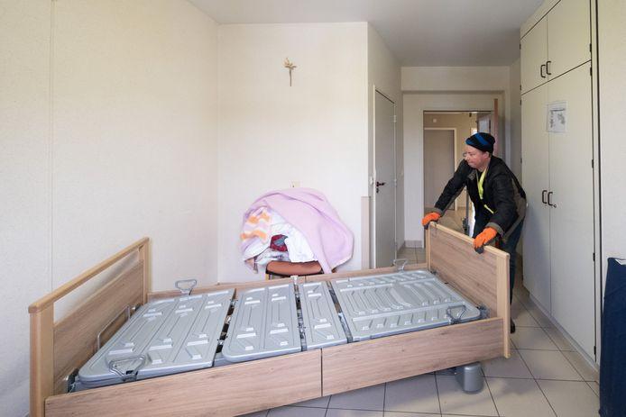 BORNEM Seniorencentrum OLV vernieuwt het meubilair