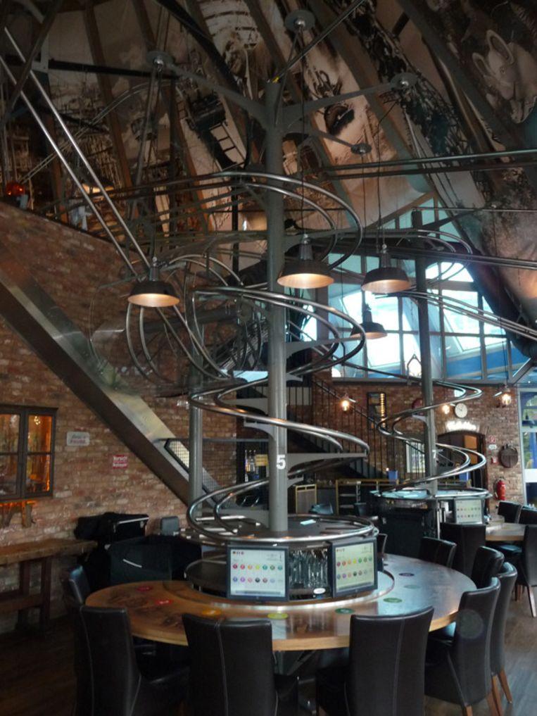 Het eerste loopingrestaurant ter wereld