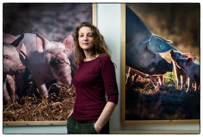 Frederieke Schouten, dierenarts bij Varkens in Nood en Dier en Recht