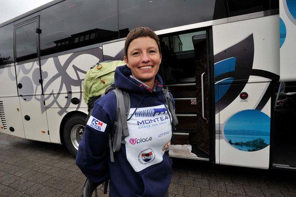 Bergbeklimster Sofie Lenaerts zal dit weekend een 270 kilometer lange tocht maken van De Panne naar Voeren. Ze zal dat doen in 24 uur, zonder te slapen onderweg.