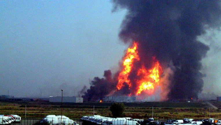 Het is vandaag exact zeven jaar geleden dat de gasramp van Gellingen plaats vond. Beeld BELGA