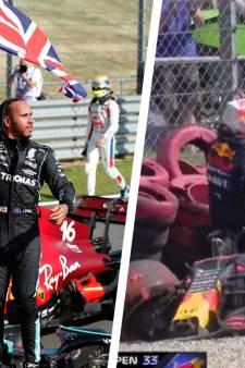 Un GP de Grande-Bretagne mouvementé: Hamilton coiffe Leclerc au poteau, violent crash pour Verstappen