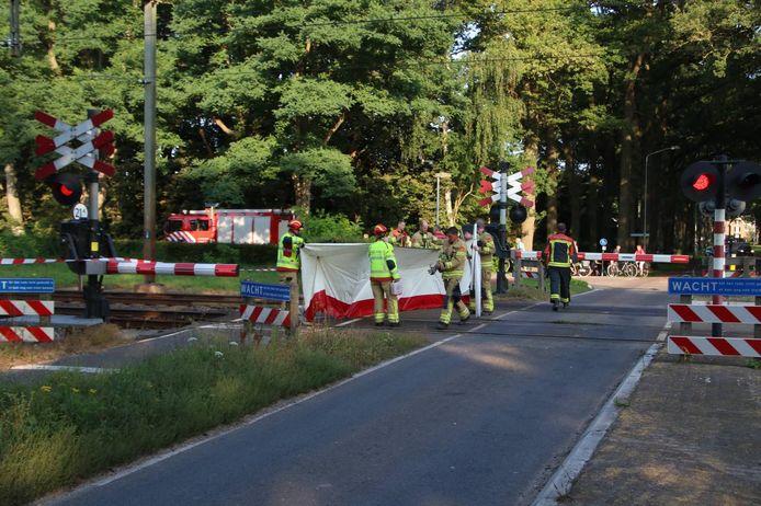 Door een spooraanrijding was er geen treinverkeer mogelijk tussen Zutphen en Dieren.