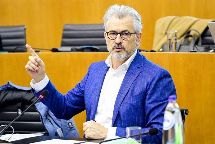 Brussels minister van Werk Bernard Clerfayt.