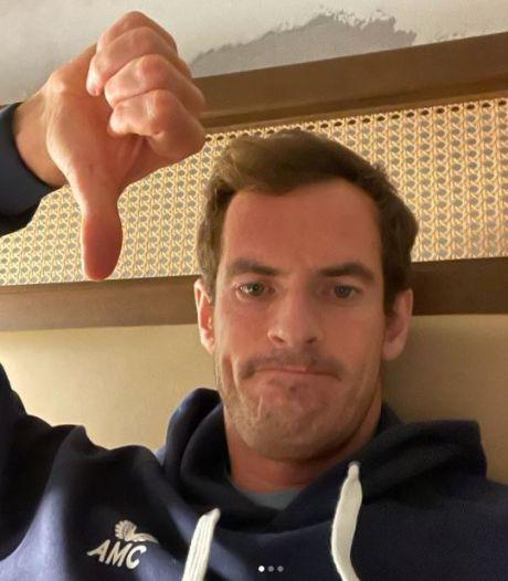 """Andy Murray lance un appel pour retrouver son alliance: """"Je vais me faire gronder à la maison"""""""