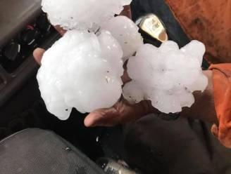"""Bizar record: hagelstenen """"zo groot als pompelmoezen"""" tijdens zware storm in Australië"""