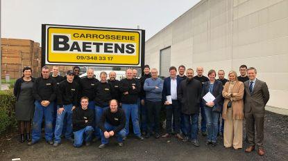 Traxio zet carrosseriebedrijf Baetens in de bloemetjes