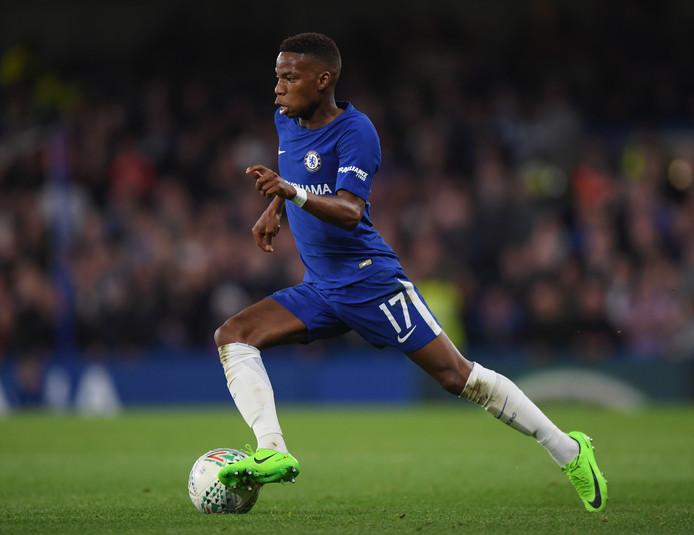 Charly Musonda in dienst van Chelsea.