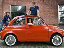 Diepenheimer Jorm Nellensteijn krijgt van zijn klassieke Italiaanse wagentje een shot geluk