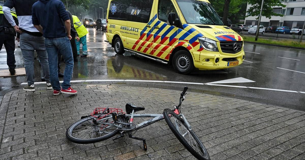 Kind gewond bij ongeluk in Tilburg.