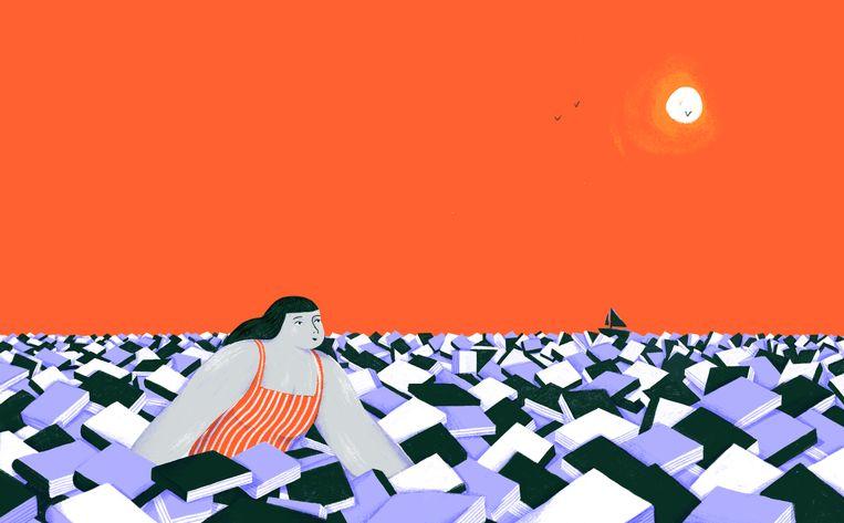 Illustratie van Elise Vandeplancke voor 'De Morgen '. Beeld Elise Vandeplancke
