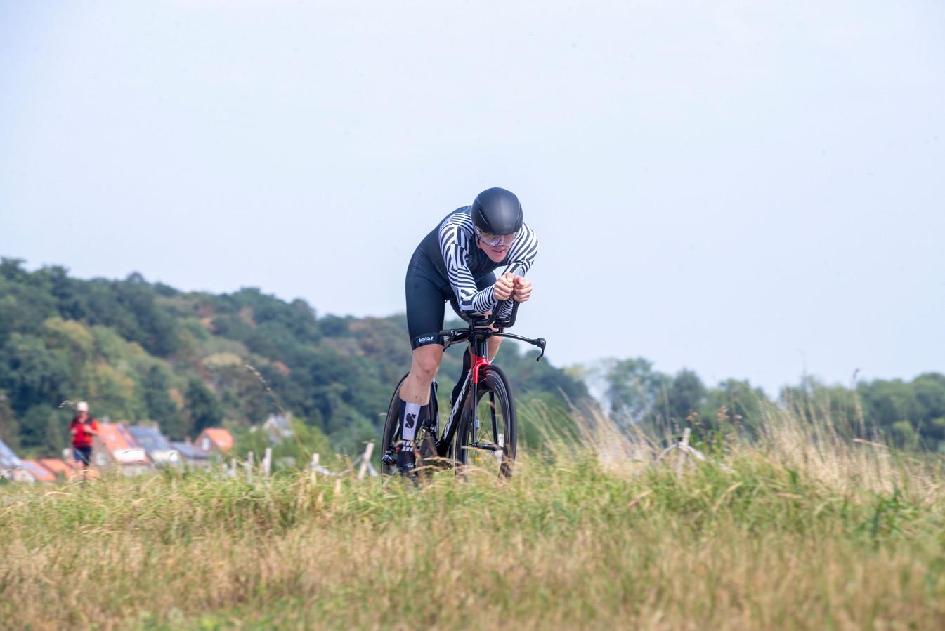 Robert Braam kickt op snelheid.