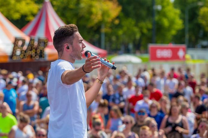 Raymon Hermans bij Breda in Concert 2018.