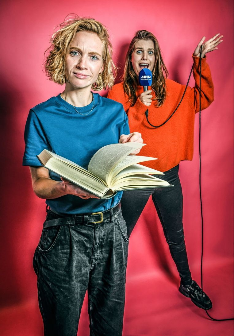Dorianne Aussems en Laura Govaerts . Beeld Koen Bauters