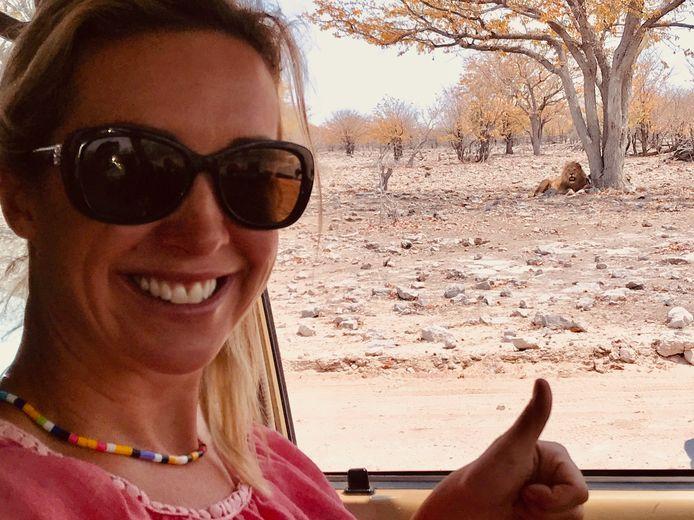 Kathleen Aerts in Zuid-Afrika