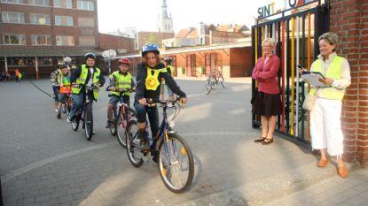 Opgepast: meer dan 700 leerlingen leggen donderdag en vrijdag voetgangers-en fietsexamen in stadscentrum af