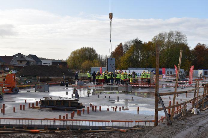 Op de campus komt een nieuwbouw van ongeveer 4.400m².