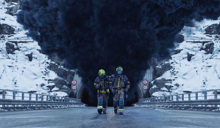 De Noorse rampenfilm The Tunnel. Beeld