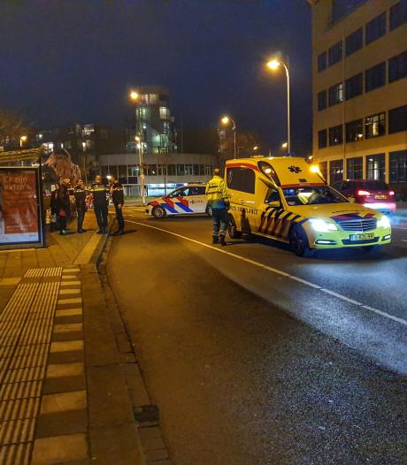 Voetganger geschept door auto in Amersfoort
