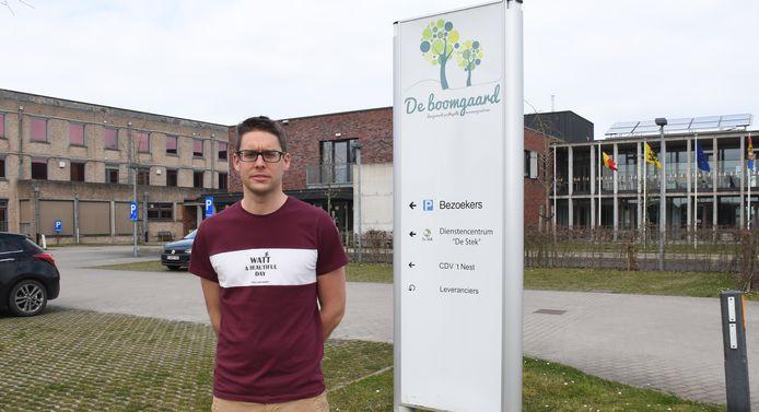Er wordt een opvolger gezocht voor Matthias Vanderhauwaert, die in juni  het zorgcentrum De Boomgaard verliet voor een nieuwe job in Menen.