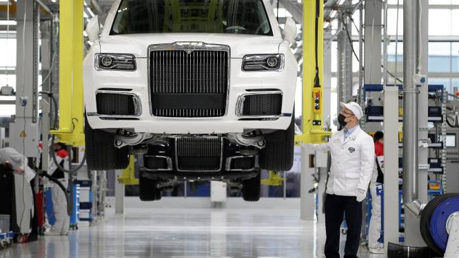 Productie Russische Rolls Royce van start