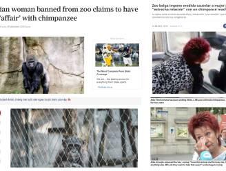 Adies contactverbod met chimpansee Chita is wereldnieuws
