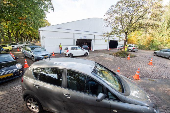 Breda - Pix4Profs/René Schotanus. De nieuwe teststraat in Breda is vandaag open gegaan nabij Amphia Langendijk.