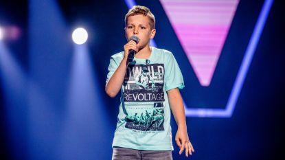 """Nathan (12) uit Kluisbergen waagt zijn kans in The Voice Kids: """"Ik zing al sinds ik kan praten"""""""