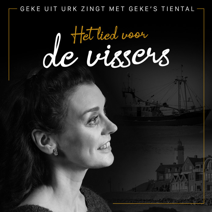 Geke uit Urk zong met Geke's Tiental Het lied voor de vissers ter ondersteuning van de pulsvisserij. Nu neemt ze een lied op: Red de Noordzee