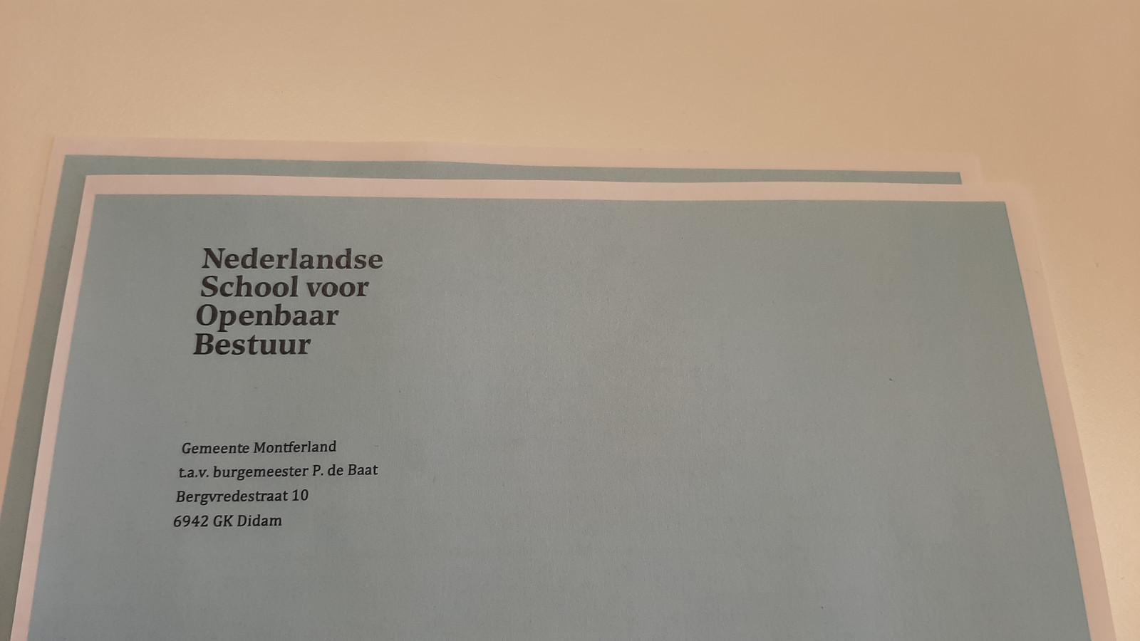 Het onderzoek van de Nederlandse School voor Openbaar Bestuur.