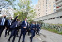 Gérald Darmanin, ministre de l'Intérieur, et le président Emmanuel Macron étaient en déplacement à Montpellier lundi sur le thème de la sécurité.