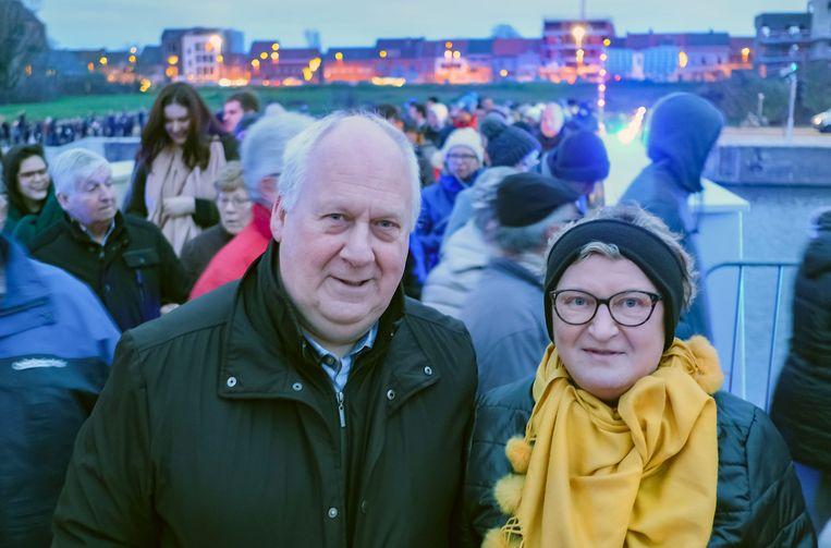 Harelbekenaar Marc Bekaert en echtgenote Christa Vandebulcke zijn blij dat de werken voorbij zijn.