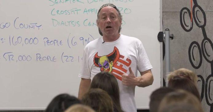 Greg Glassman, de opgestapte ceo van CrossFit Inc.