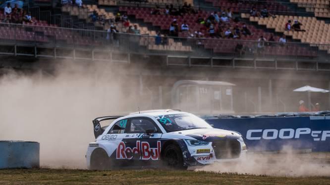 Enzo Ide laat potentieel zien in opener van het WK rallycross in Barcelona