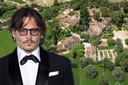 Johnny Depp verkoopt zijn Franse dorp.