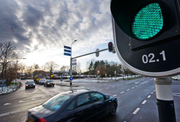 De N35 gaat zondag voor werkzaamheden dicht tussen Wierden en Nijverdal.