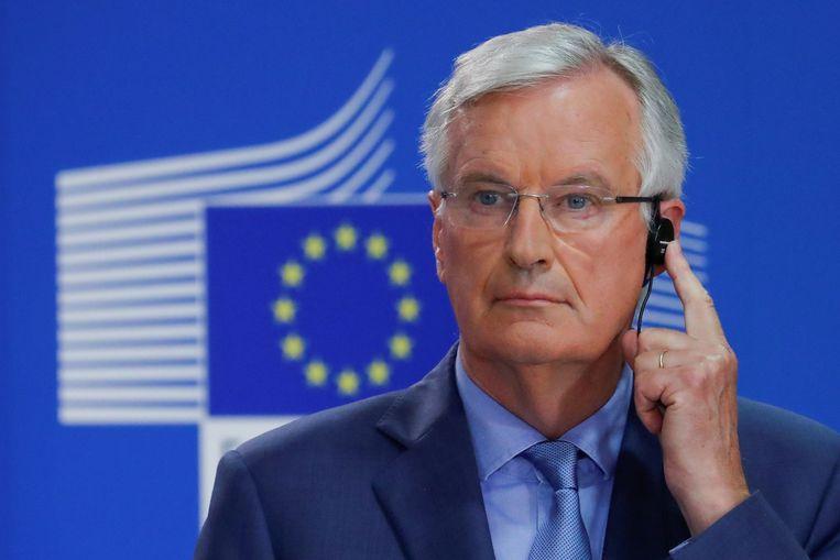 Michel Barnier, hoofdonderhandelaar van de brexit namens de EU.  Beeld REUTERS