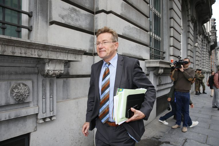 Minister van Financiën Johan Van Overtveldt (N-VA).  Beeld BELGA
