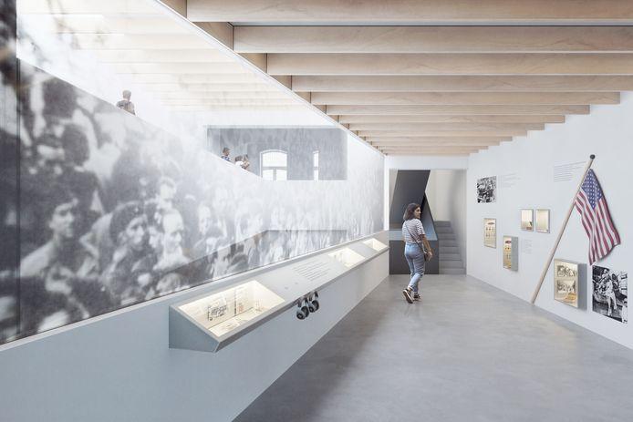 Een simulatie van het nieuwe museum.