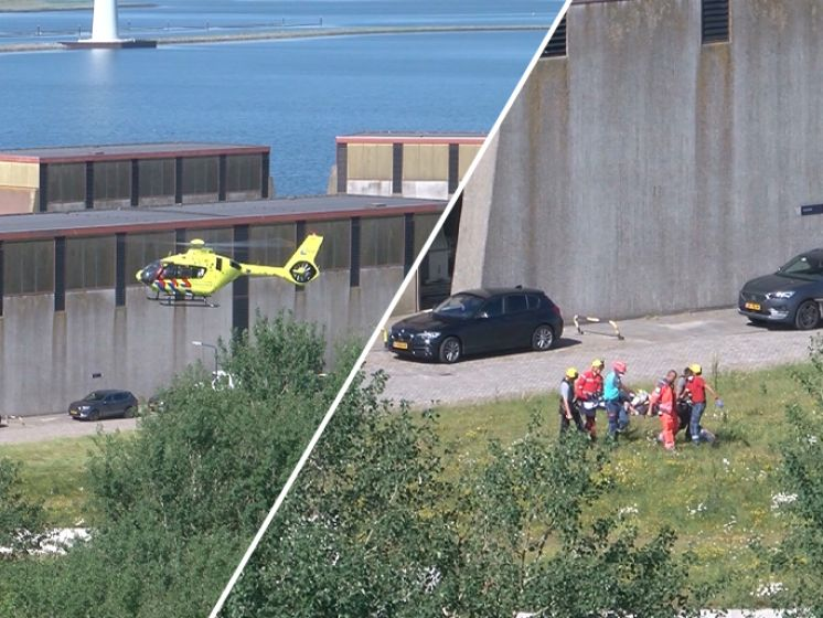 Man valt in 14 meter diepe put bij Bruinisse