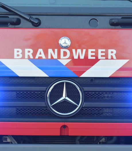 Brand in cabine van vrachtwagen in Poortvliet