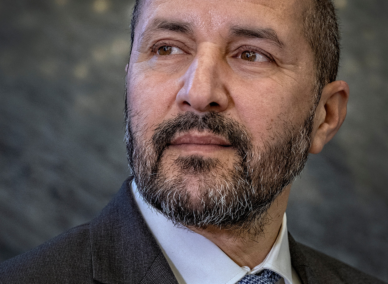 Ahmed Marcouch: 'Een calvinistische kijk op het leven, dat is niet aan calvinisten voorbehouden'.