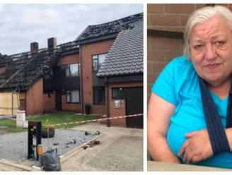 """Brand vernielt vijf woningen in één wijk, maar Anny blijft positief: """"Mijn neefje stierf op zijn dertigste in een brand. Dàt is pas een drama"""""""
