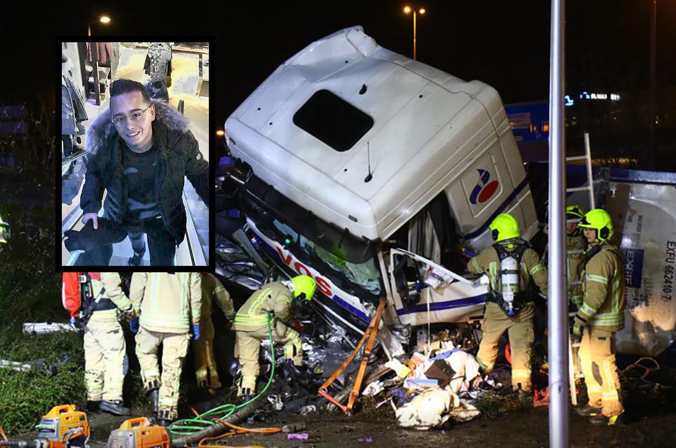 De bestuurder van de Opel, de 21-jarige Berhan Yarali, kwam bij het ongeluk om het leven.